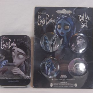 Corpse Bride Button and Tin