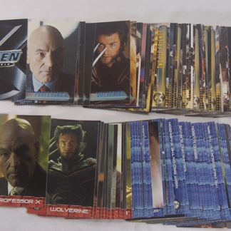 X-Men and X-Men2 Movie trading cards