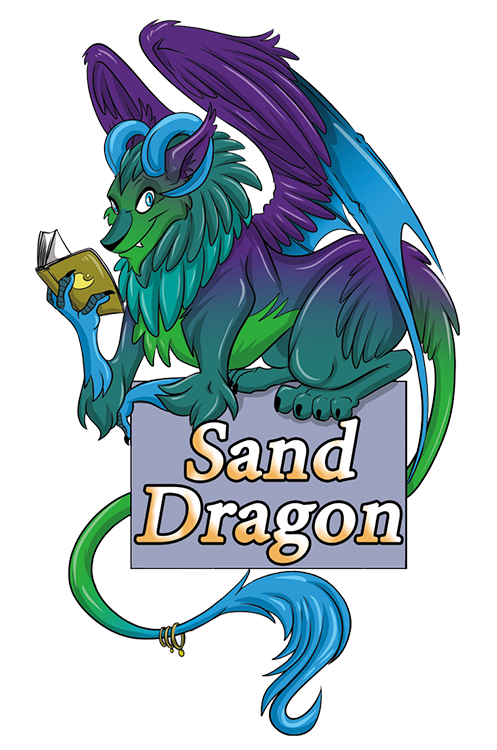 Sand Dragon Press-Vincent logo
